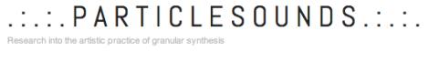 particle sounds logo
