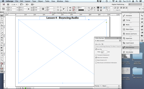 Indesign Overlay