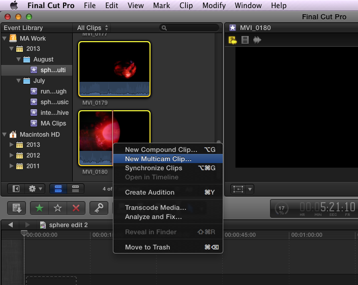 how to edit audio files in final cut pro