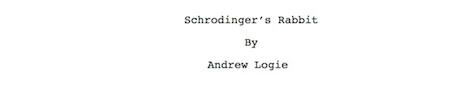 script title