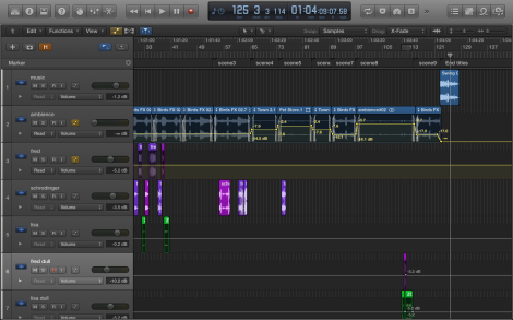 Automation in Logic Pro X