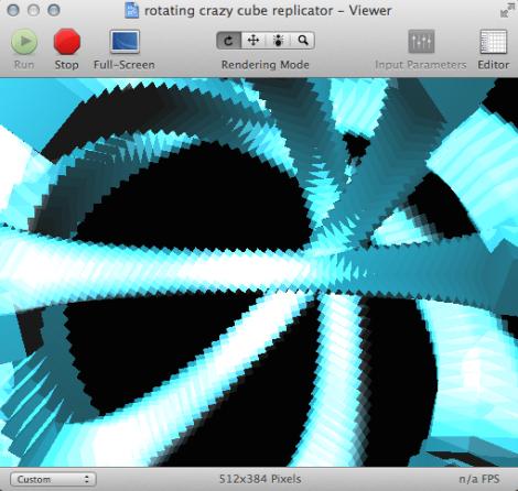 Quartz Composer motion graphics