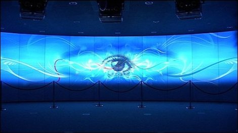 Fusion Screen, Image ©BBC 2009.