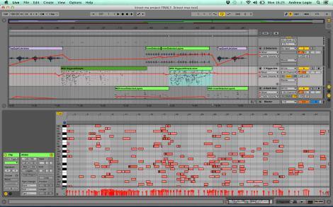 Higgs MIDI sequence