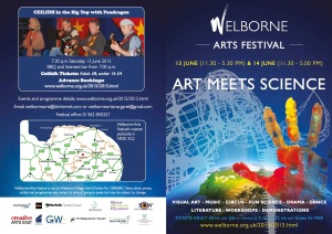 Welborne Arts Festival flyer page1