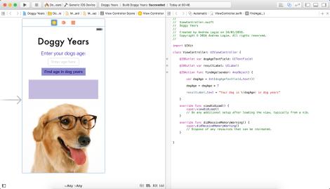 Xcode 1st app
